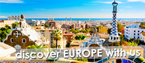 Discover Europe with us